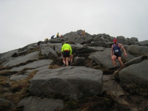 goatfell descent 2013